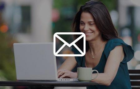 EMAIL PROFISSIONAL COM CONTAS ILIMITADAS PARA SUA EMPRESA Você pode iniciar criando apenas uma conta de email e ampliar o serviço sempre que precisar!