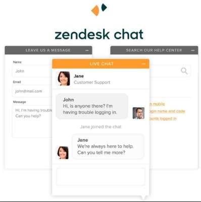 melhor chat online ZenDesk