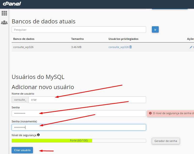 Como Restaurar o Backup WordPress passo 5