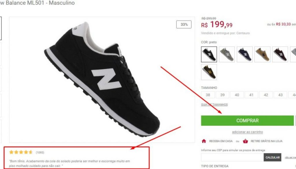 call to action ecommerce