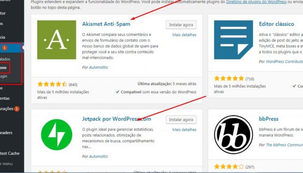 plugins site juridico
