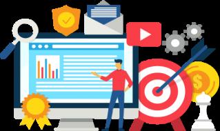 Com tudo pronto, é hora de alcançar seus clientes! Ajudamos através da otimização para resultados no Google e anúncios pagos.