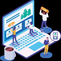 Crie um site profissional personalizado e faça sua marca ser conhecida na internet!